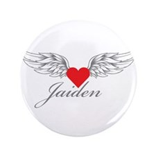 "Angel Wings Jaiden 3.5"" Button"