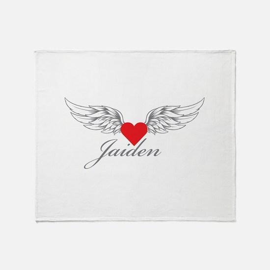 Angel Wings Jaiden Throw Blanket