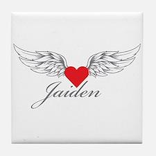 Angel Wings Jaiden Tile Coaster