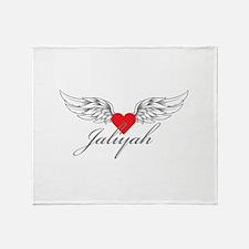 Angel Wings Jaliyah Throw Blanket