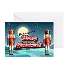 Nutty Nutcrackers Greeting Cards (Pk of 20)