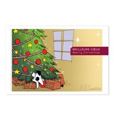 FOXaddict CHRISTMAS GREETINGS CARD/CARTE DE VOEUX