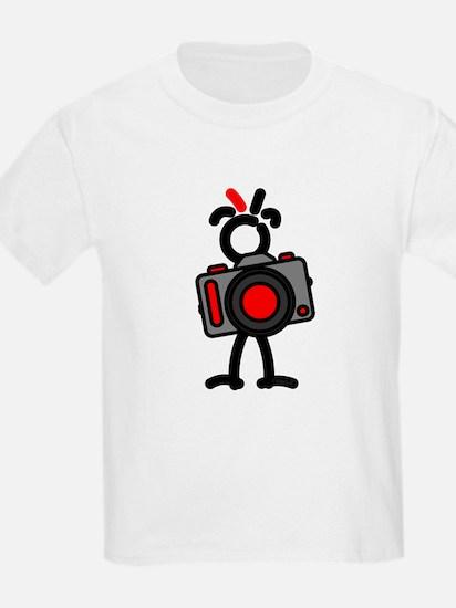 Red Photo1 Kids T-Shirt