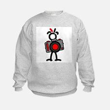 Red Photo1 Sweatshirt