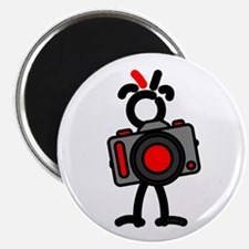 Red Photo1 Magnet