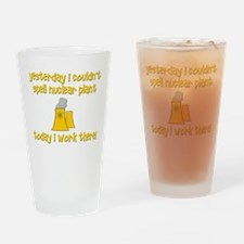 Funny Nuclear Drinking Glass