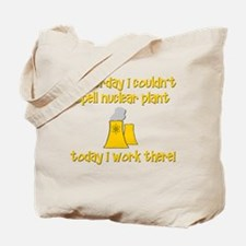 Funny Nuclear Tote Bag