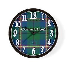 Carmichael Clan Wall Clock