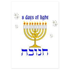 Chanukkah 8 days of light Invitations