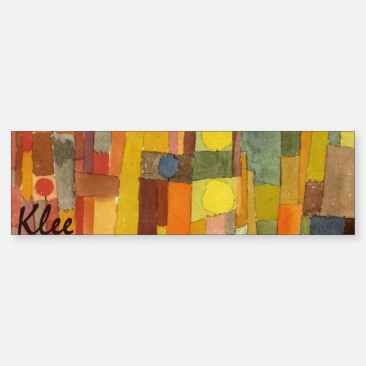 Style of Kaiouan by Klee Bumper Bumper Sticker