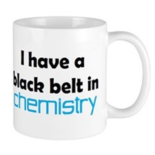 chemistry black belt Mug
