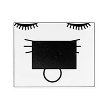 O cat white Picture Frame