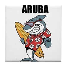 Aruba Tile Coaster