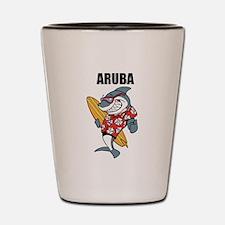 Aruba Shot Glass