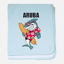 Aruba baby blanket