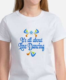 About Line Dancing Tee