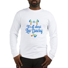 About Line Dancing Long Sleeve T-Shirt