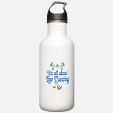 About Line Dancing Water Bottle