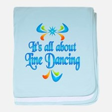 About Line Dancing baby blanket