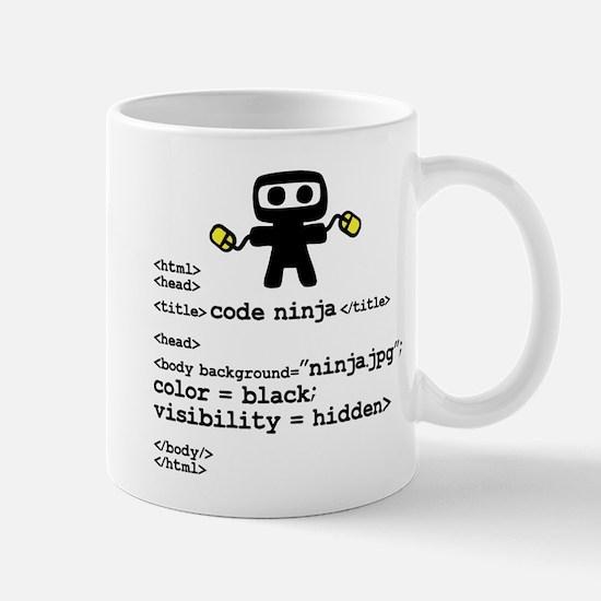I code like a ninja Mugs