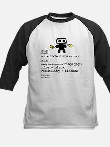 I code like a ninja Baseball Jersey