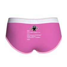 I code like a ninja Women's Boy Brief