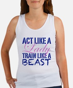 Act Like A Lady Women's Tank Top
