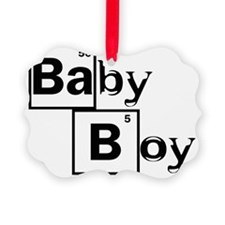 Breaking Bad Baby Boy Black Ornament