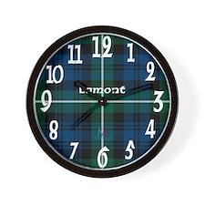 Lamont Clan Wall Clock