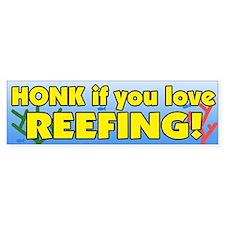 Reefing Bumper Bumper Sticker