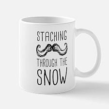 Staching Through the Snow Mugs