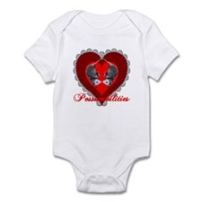 Possumbilities Valentines Day Infant Bodysuit