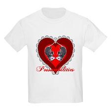 Possumbilities Valentines Day Kids T-Shirt