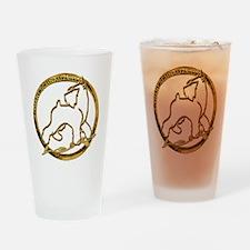 Giant schnauzer holiday Drinking Glass