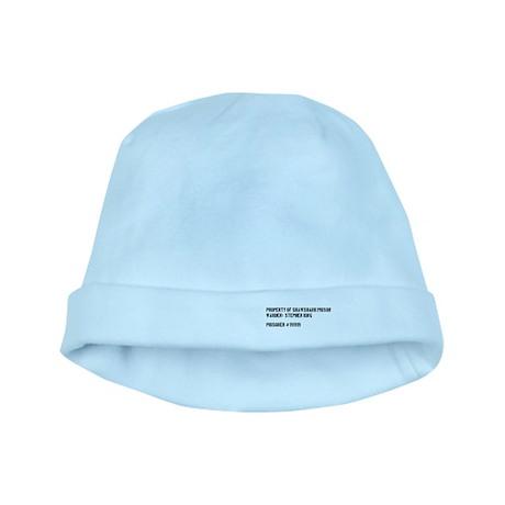Stephen's Shawshank Design baby hat