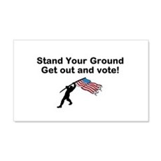 Your Vote is your weapon Wall Decal