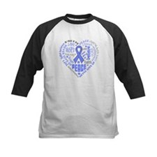 Esophageal Cancer Heart Words Tee