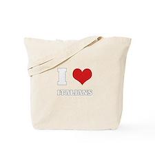 i love italians Tote Bag