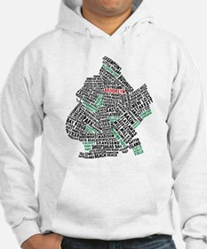 Brooklyn NYC Typography Art Hoodie