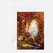 Autumn Trees Fine Art Greeting Card