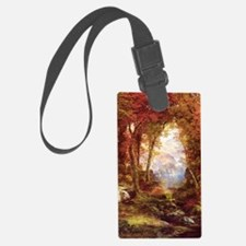 Autumn Trees Fine Art Luggage Tag