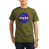 Nasa Organic Men's T-Shirt (dark)