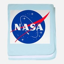NASA Logo baby blanket