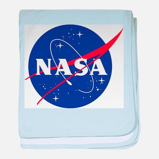 NASA Logo baby blanket