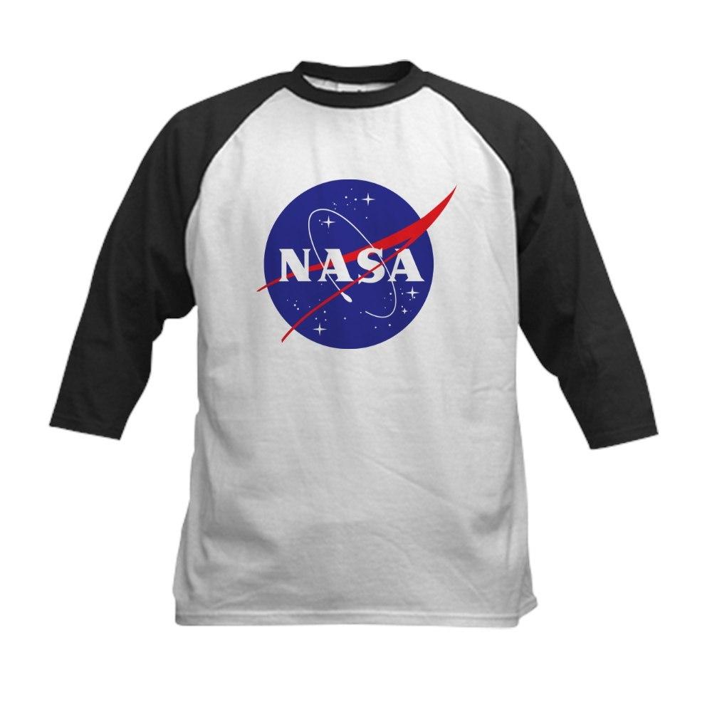 CafePress NASA Logo Kids Baseball Jersey