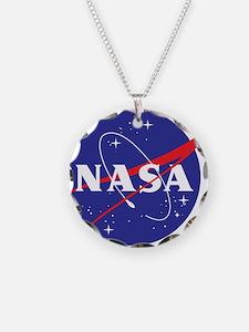 NASA Logo Necklace