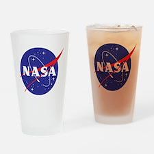 NASA Logo Drinking Glass
