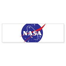 NASA Logo Bumper Sticker
