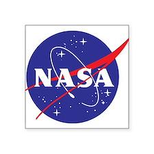 """NASA Logo Square Sticker 3"""" x 3"""""""