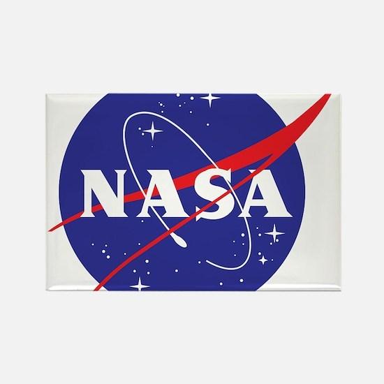 NASA Logo Rectangle Magnet